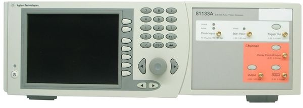 g n rateur d 39 impulsions keysight agilent hp 81133a achat et location generateur. Black Bedroom Furniture Sets. Home Design Ideas